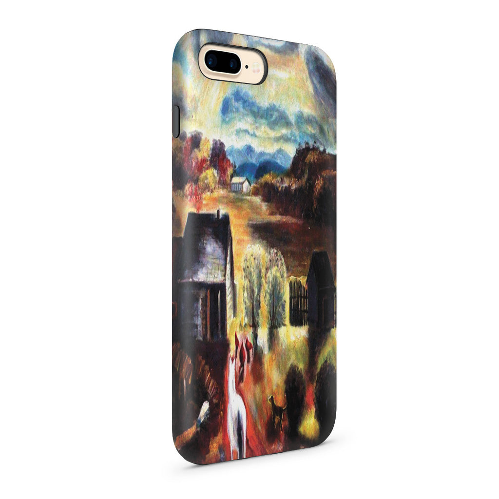 iPhone 7 Plus Adventure Case - The White Horse by George Wesley Bellows