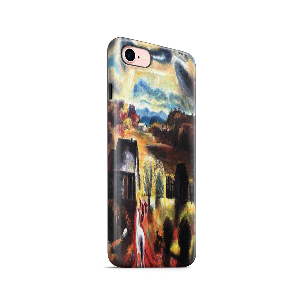 iPhone 7 Adventure Case - The White Horse by George Wesley Bellows