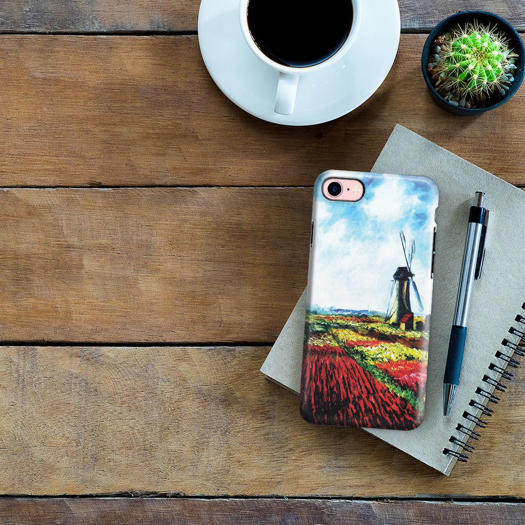iPhone 6 | 6s Adventure Case - Tulip Field with the Rijnsburg Windmill by Claude Monet