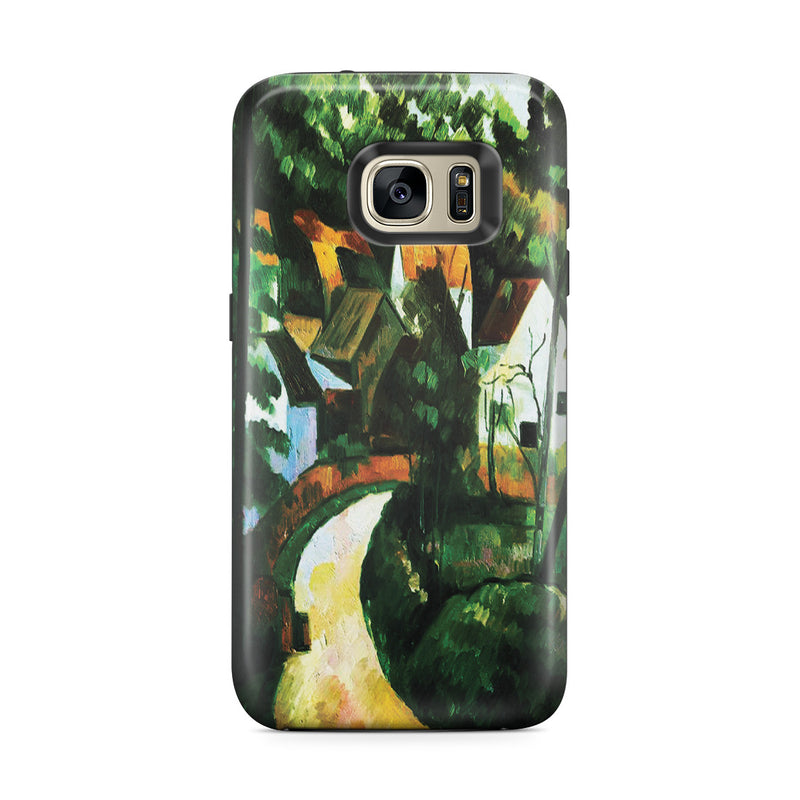 Galaxy S7 Edge Adventure Case - Turn In The Road, by Paul Cezanne