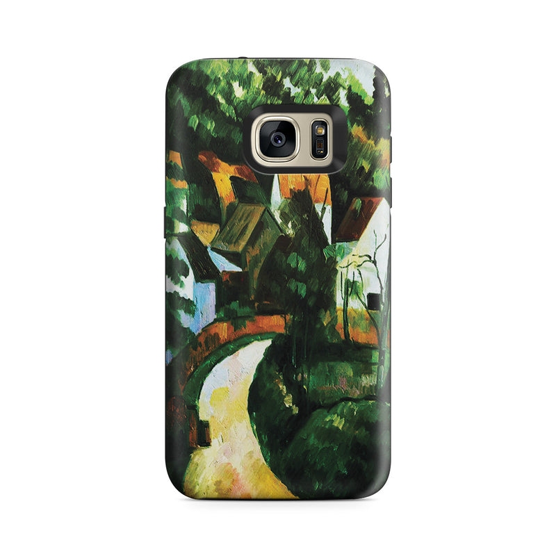 Galaxy S7 Adventure Case - Turn In The Road, by Paul Cezanne