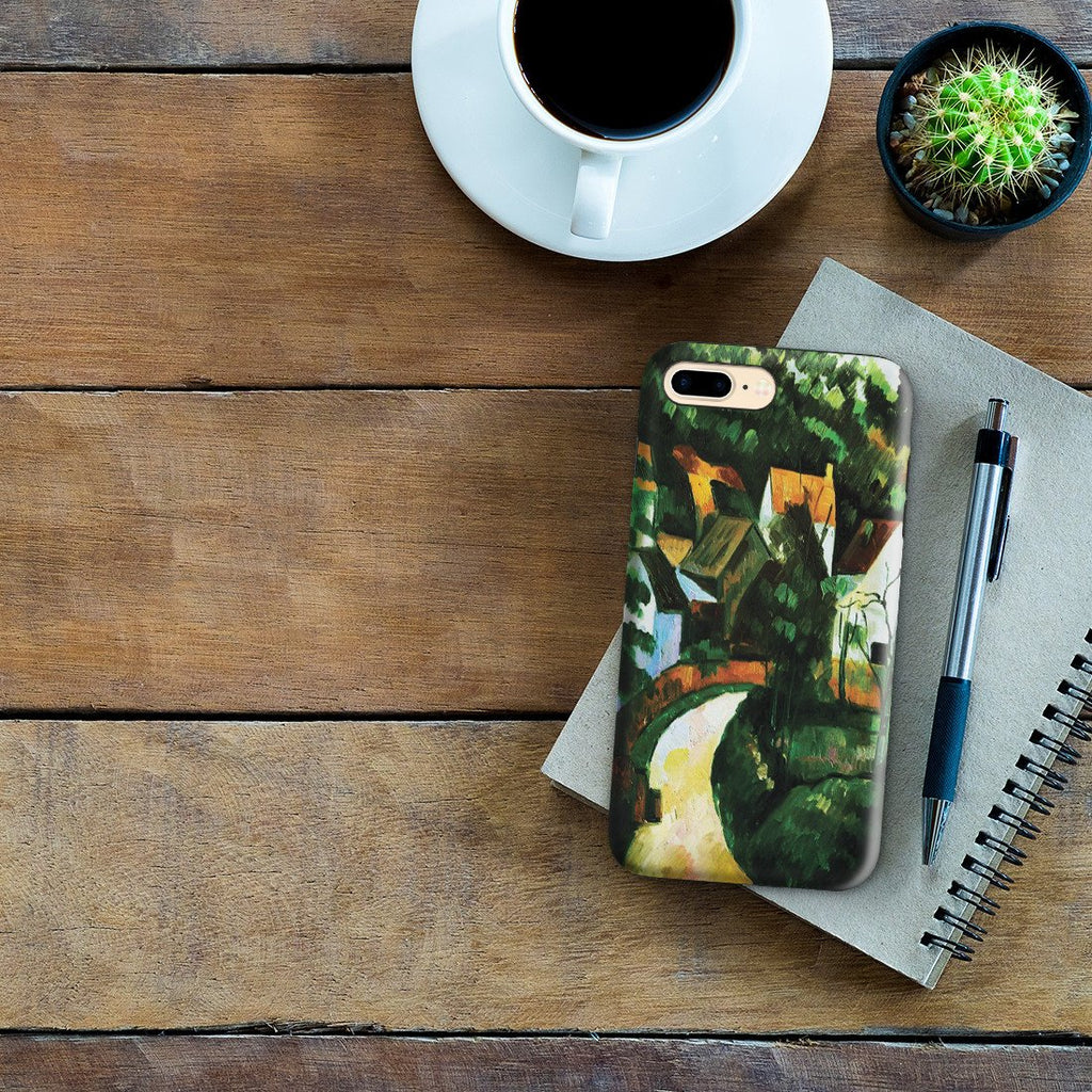 iPhone 8 Plus Adventure Case - Turn In The Road, by Paul Cezanne