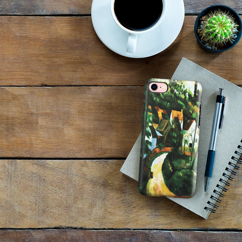 iPhone 7 Adventure Case - Turn In The Road, by Paul Cezanne