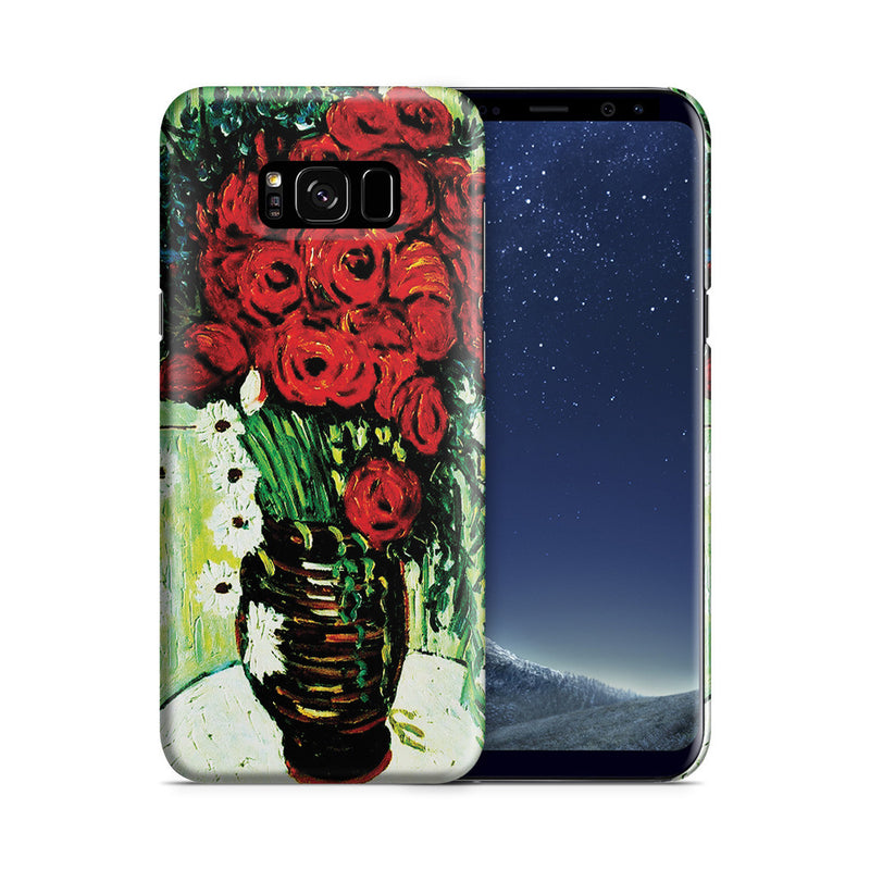Galaxy S8 Case - Vase with Daisies and Poppies by Vincent Van Gogh