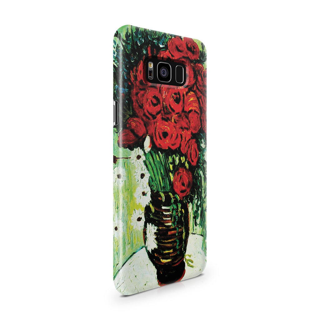Galaxy S8 Plus Case - Vase with Daisies and Poppies by Vincent Van Gogh