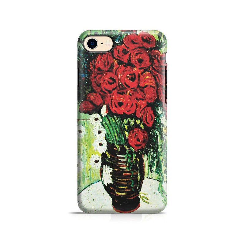 iPhone 8 Adventure Case - Vase with Daisies and Poppies by Vincent Van Gogh