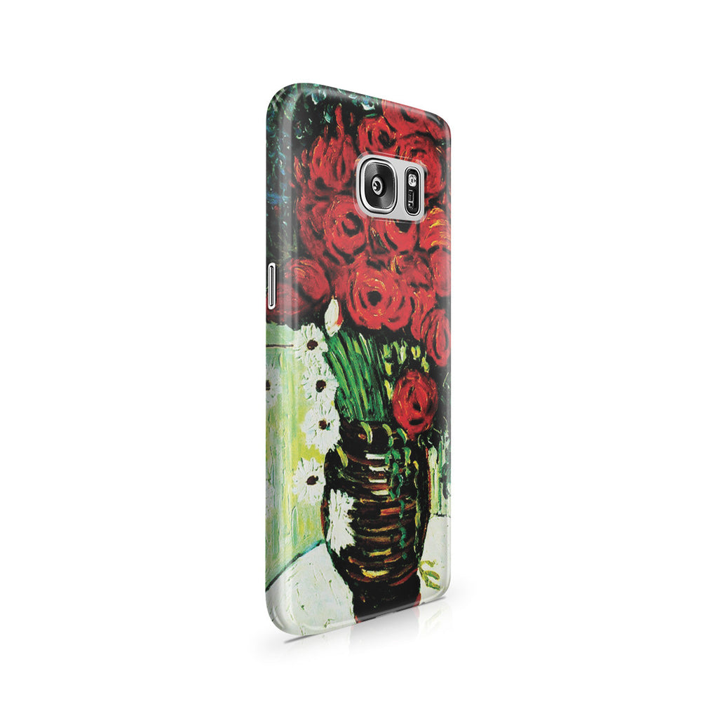 Galaxy S7 Case - Vase with Daisies and Poppies by Vincent Van Gogh