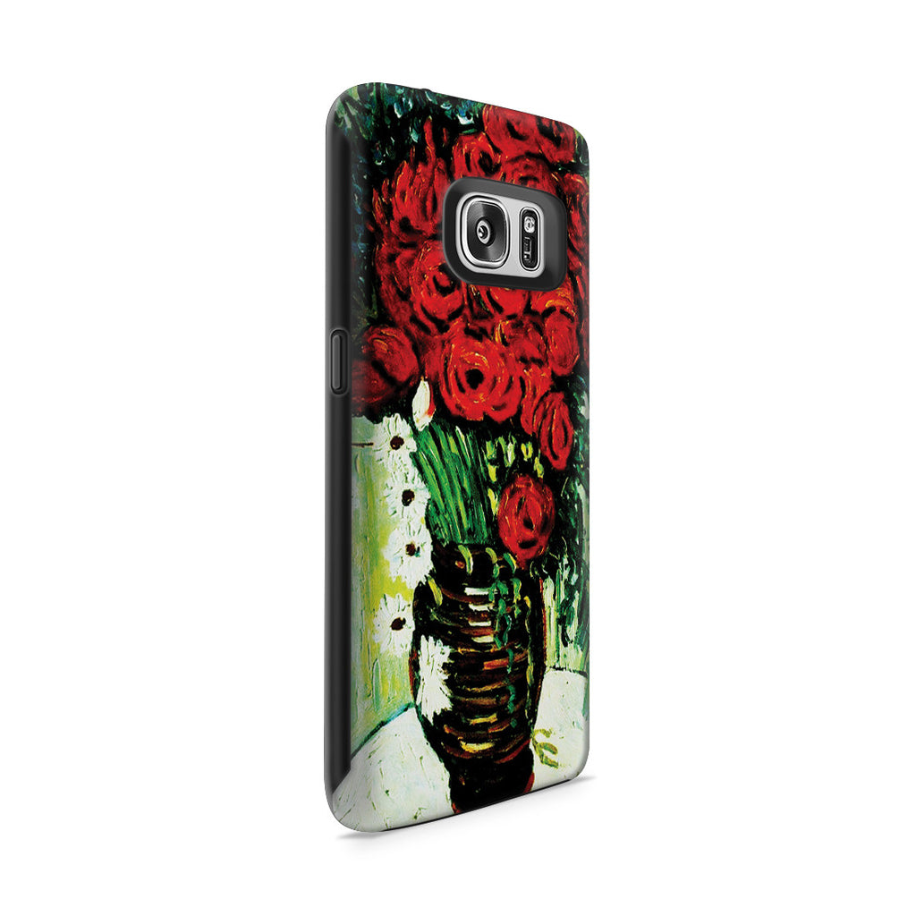 Galaxy S7 Adventure Case - Vase with Daisies and Poppies by Vincent Van Gogh