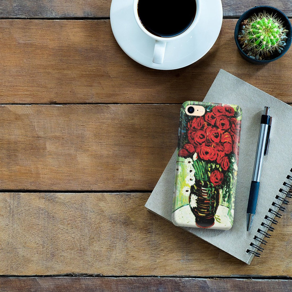 iPhone 8 Case - Vase with Daisies and Poppies by Vincent Van Gogh