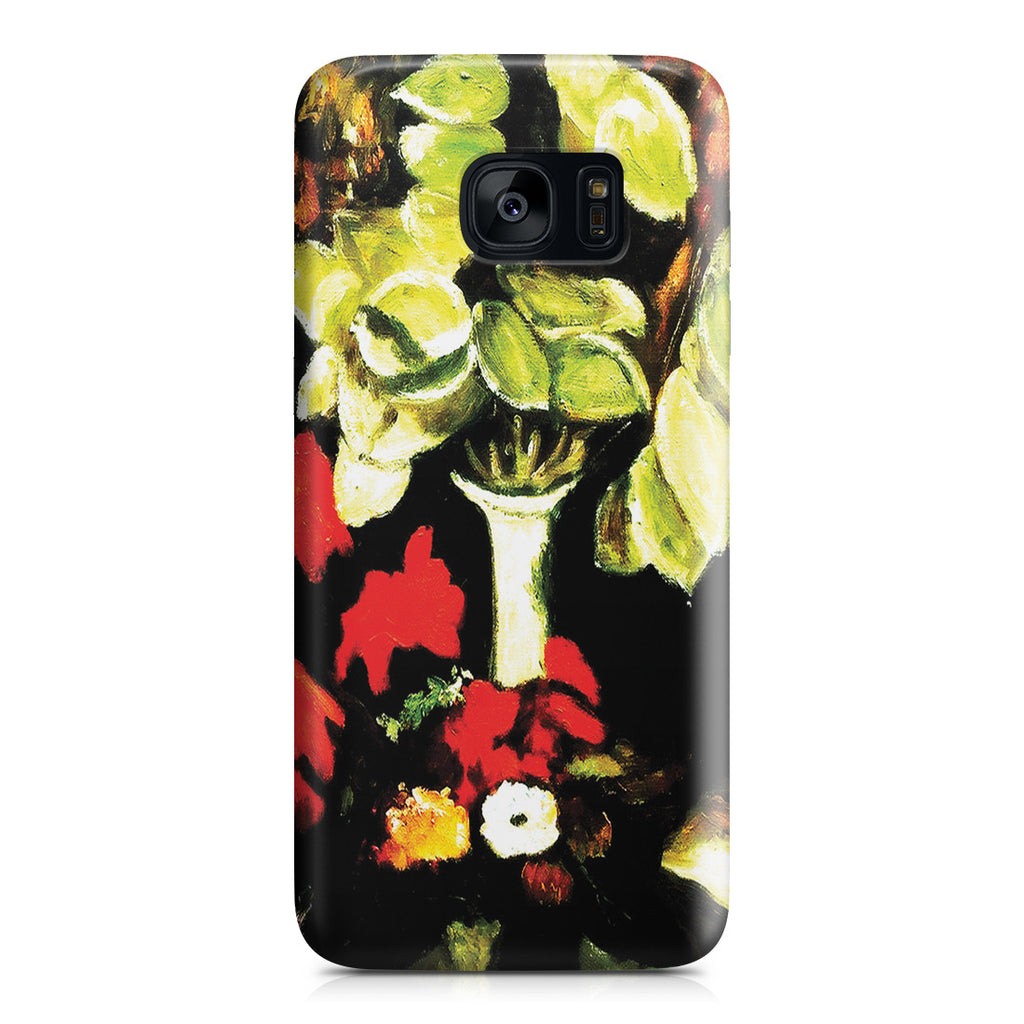 Galaxy S7 Edge Case - Vase with Honesty,1884 by Vincent Van Gogh