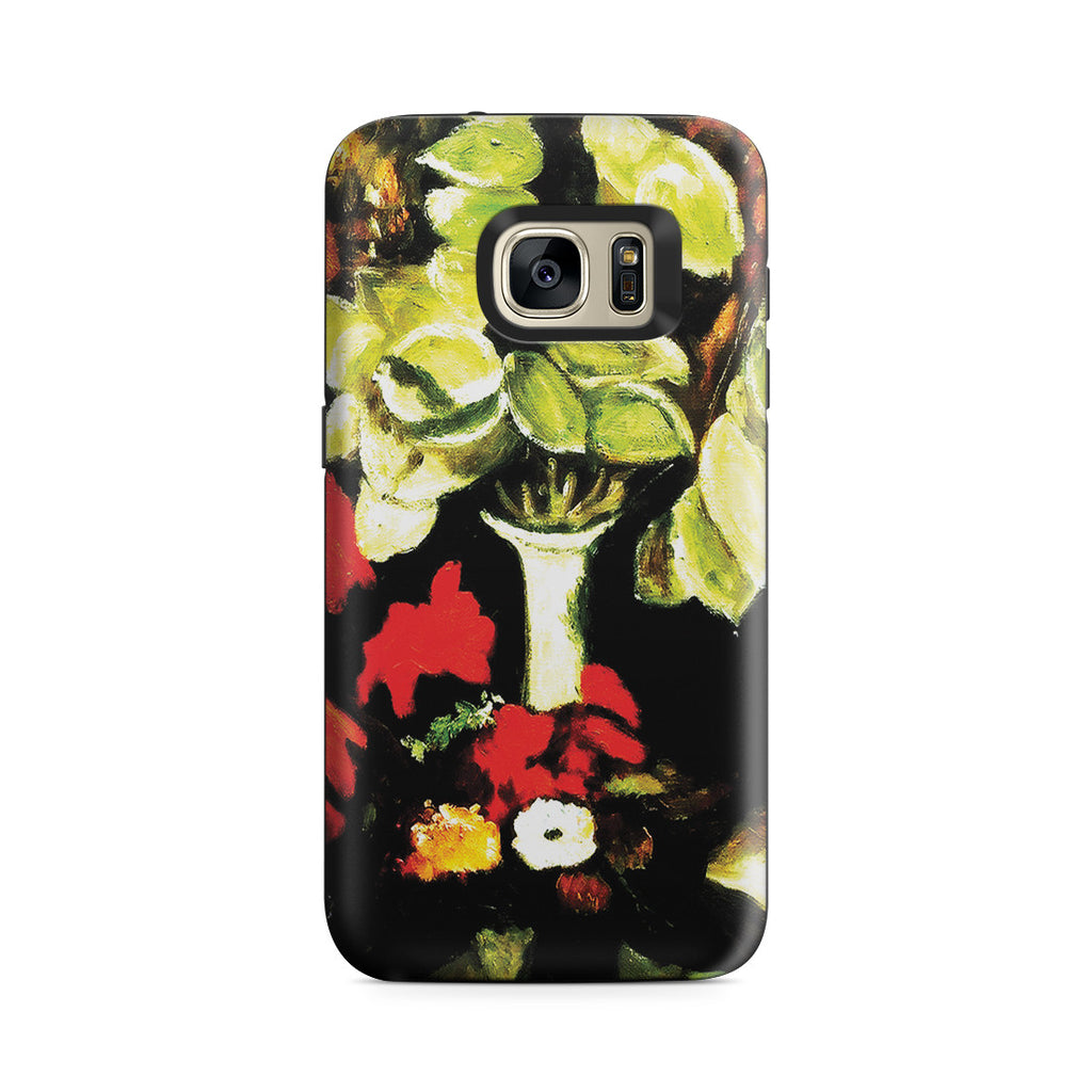 Galaxy S7 Adventure Case - Vase with Honesty,1884 by Vincent Van Gogh
