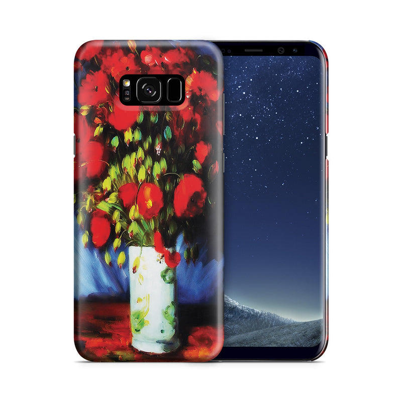 Galaxy S8 Plus Case - Vase with Red Poppies by Vincent Van Gogh