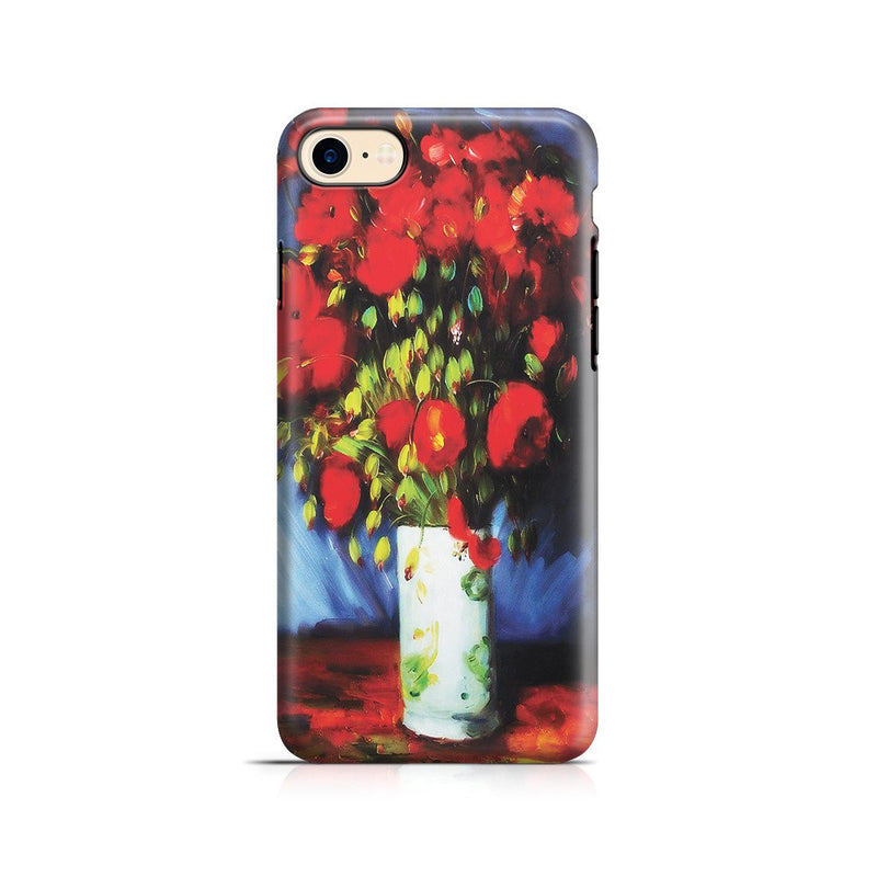 iPhone 8 Adventure Case - Vase with Red Poppies by Vincent Van Gogh