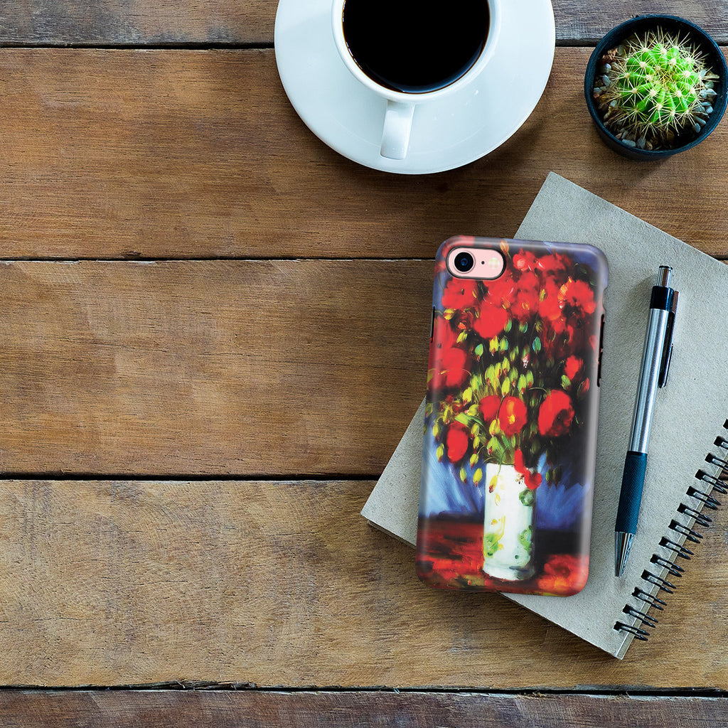 iPhone 6 | 6s Plus Adventure Case - Vase with Red Poppies by Vincent Van Gogh