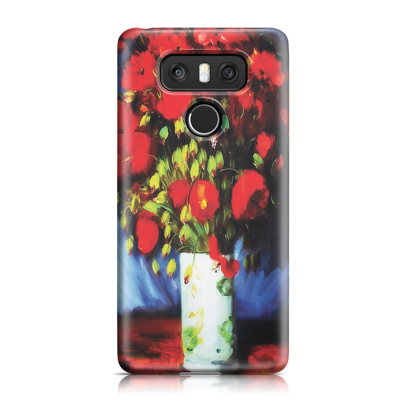 LG G6 Case - Vase with Red Poppies by Vincent Van Gogh