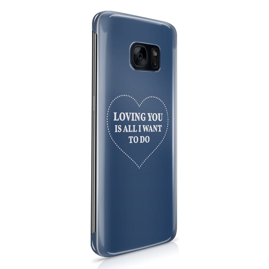 Galaxy S7 Edge Case - All I Want Is You