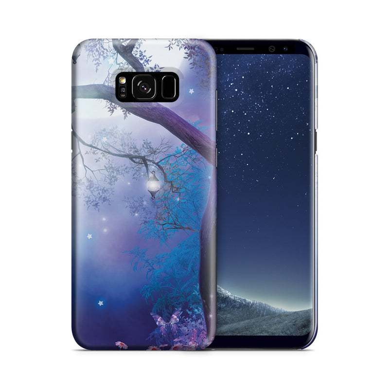 Galaxy S8 Plus Case - Moonlight Garden