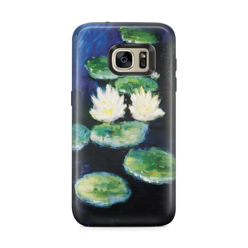 Galaxy S7 Edge Adventure Case - Water Lilies, Evening by Claude Monet