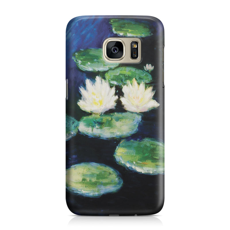 Galaxy S7 Case - Water Lilies, Evening by Claude Monet