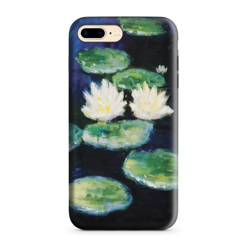 iPhone 8 Plus Adventure Case - Water Lilies, Evening by Claude Monet
