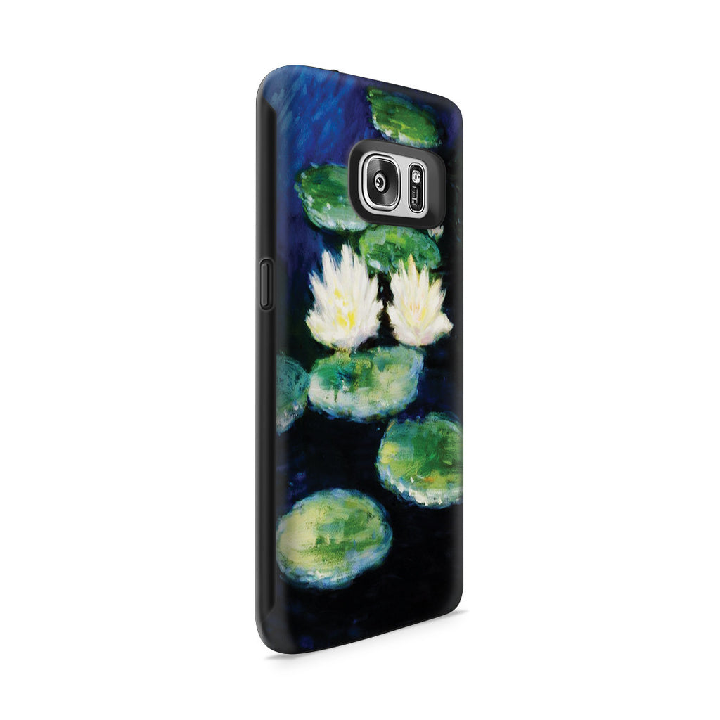 Galaxy S7 Adventure Case - Water Lilies, Evening by Claude Monet