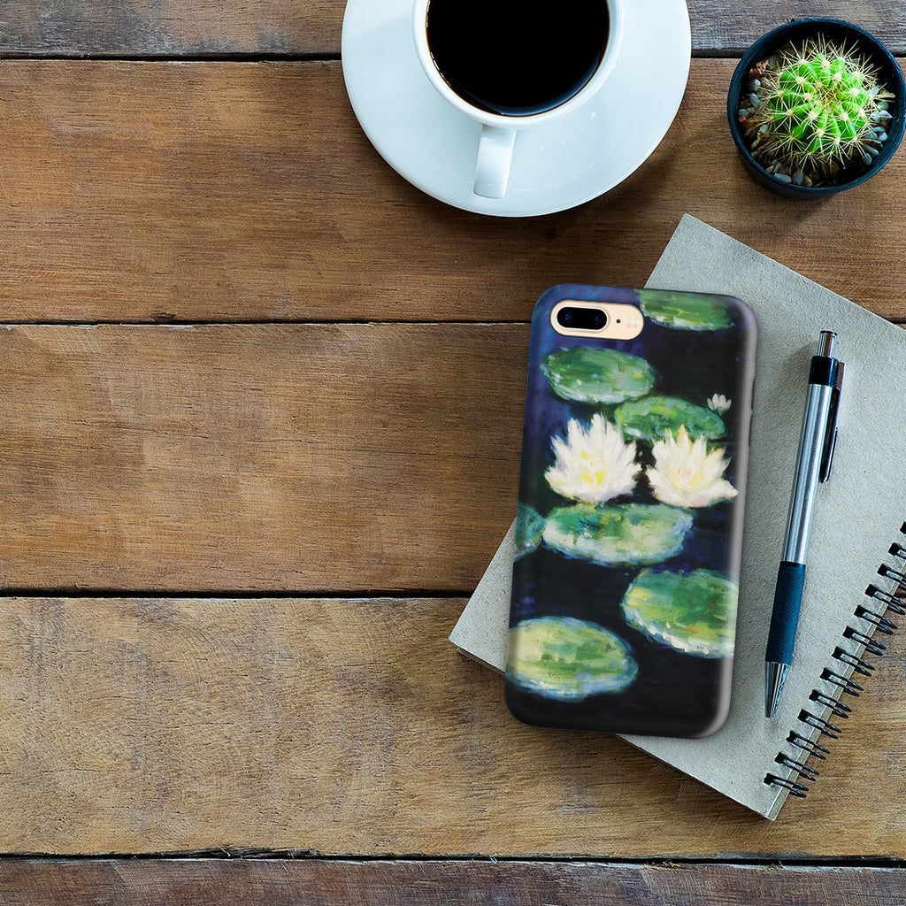 iPhone 7 Plus Adventure Case - Water Lilies, Evening by Claude Monet