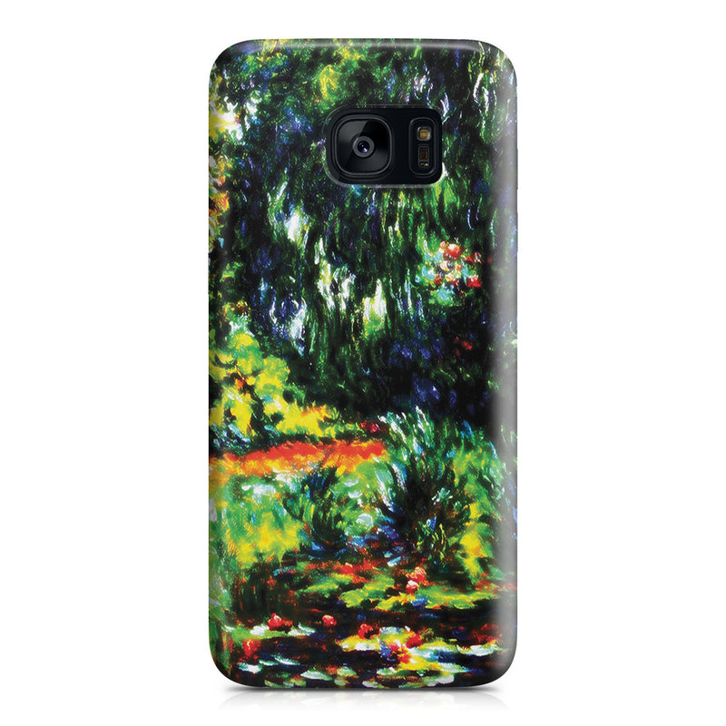 Galaxy S7 Edge Case - Water Lily Pond by Claude Monet
