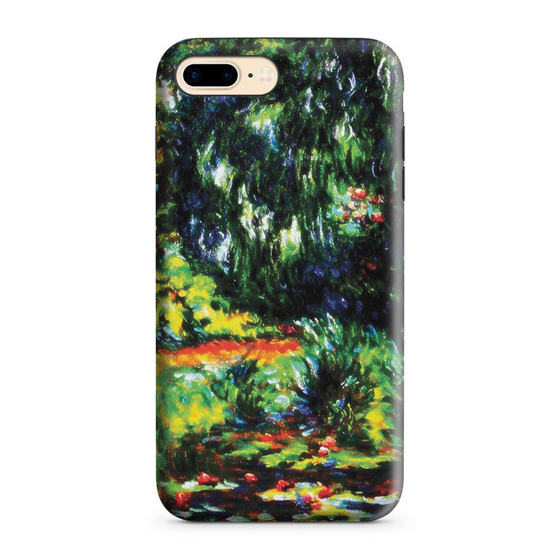 iPhone 8 Plus Adventure Case - Water Lily Pond by Claude Monet