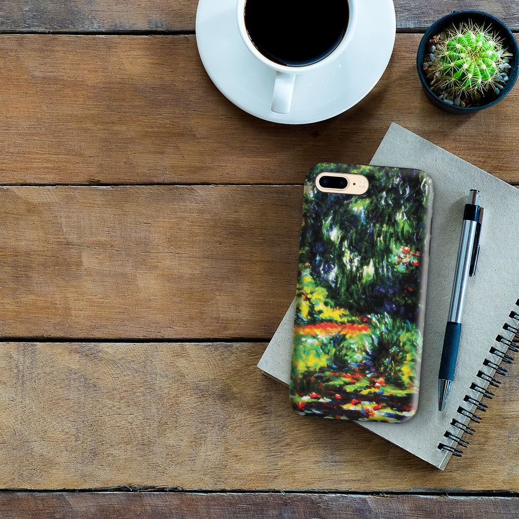 iPhone 7 Plus Adventure Case - Water Lily Pond by Claude Monet