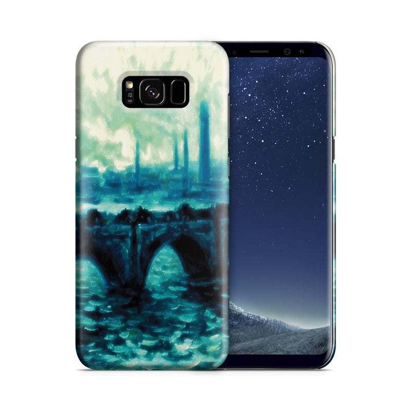 Galaxy S8 Case - Waterloo Bridge by Claude Monet