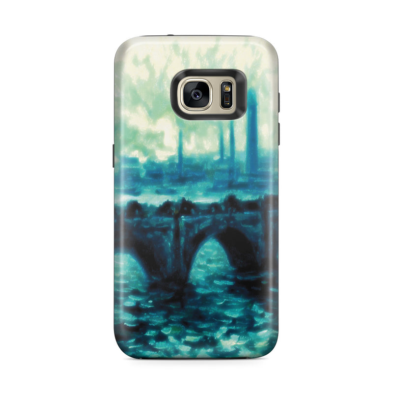 Galaxy S7 Edge Adventure Case - Waterloo Bridge by Claude Monet
