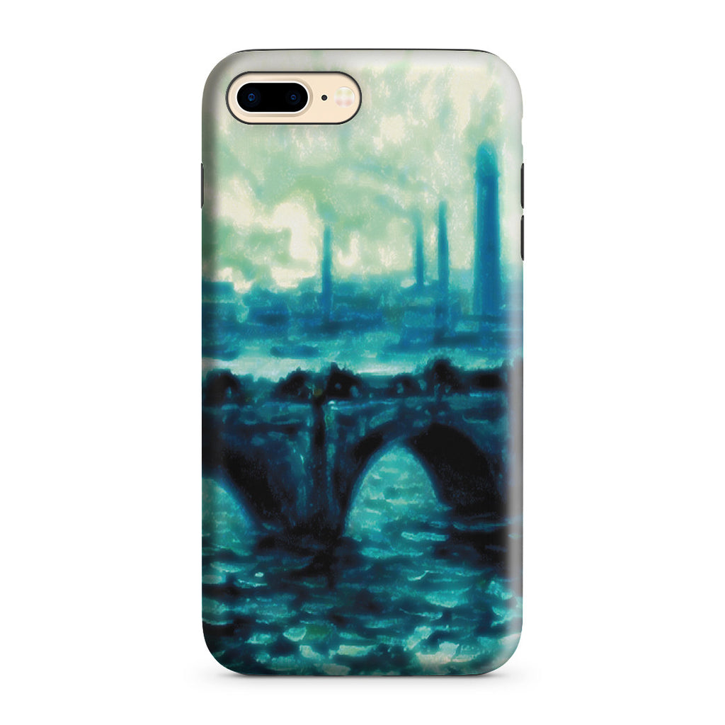 iPhone 7 Plus Adventure Case - Waterloo Bridge by Claude Monet