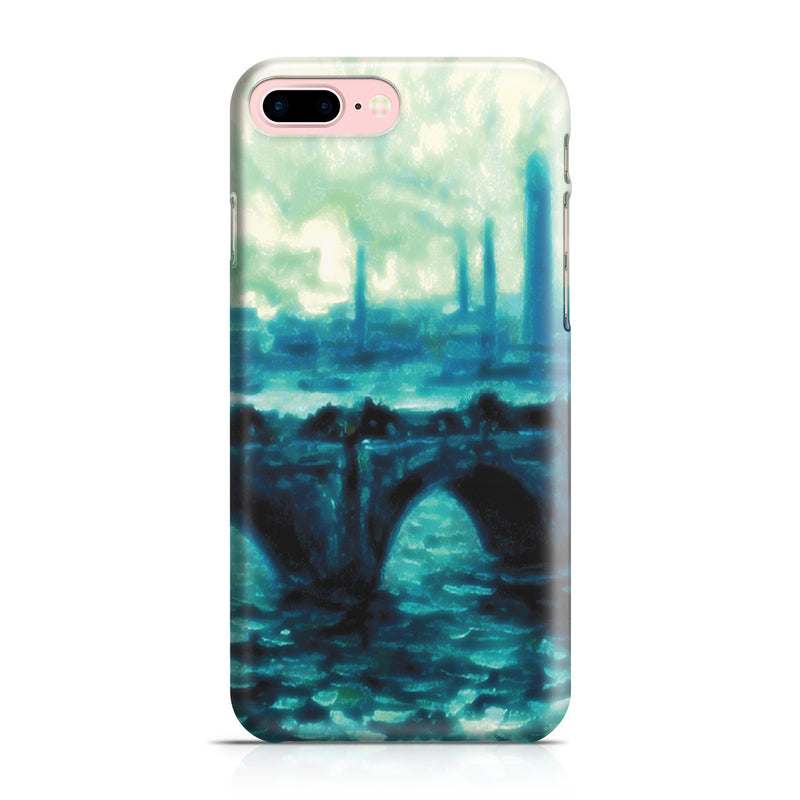 iPhone 7 Plus Case - Waterloo Bridge by Claude Monet