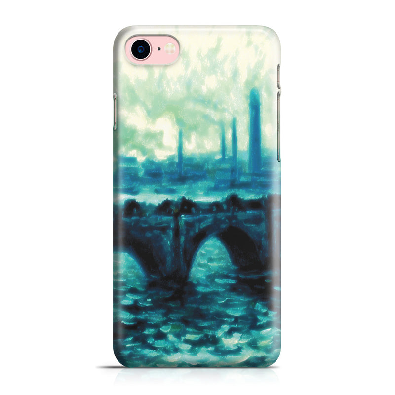 iPhone 7 Case - Waterloo Bridge by Claude Monet