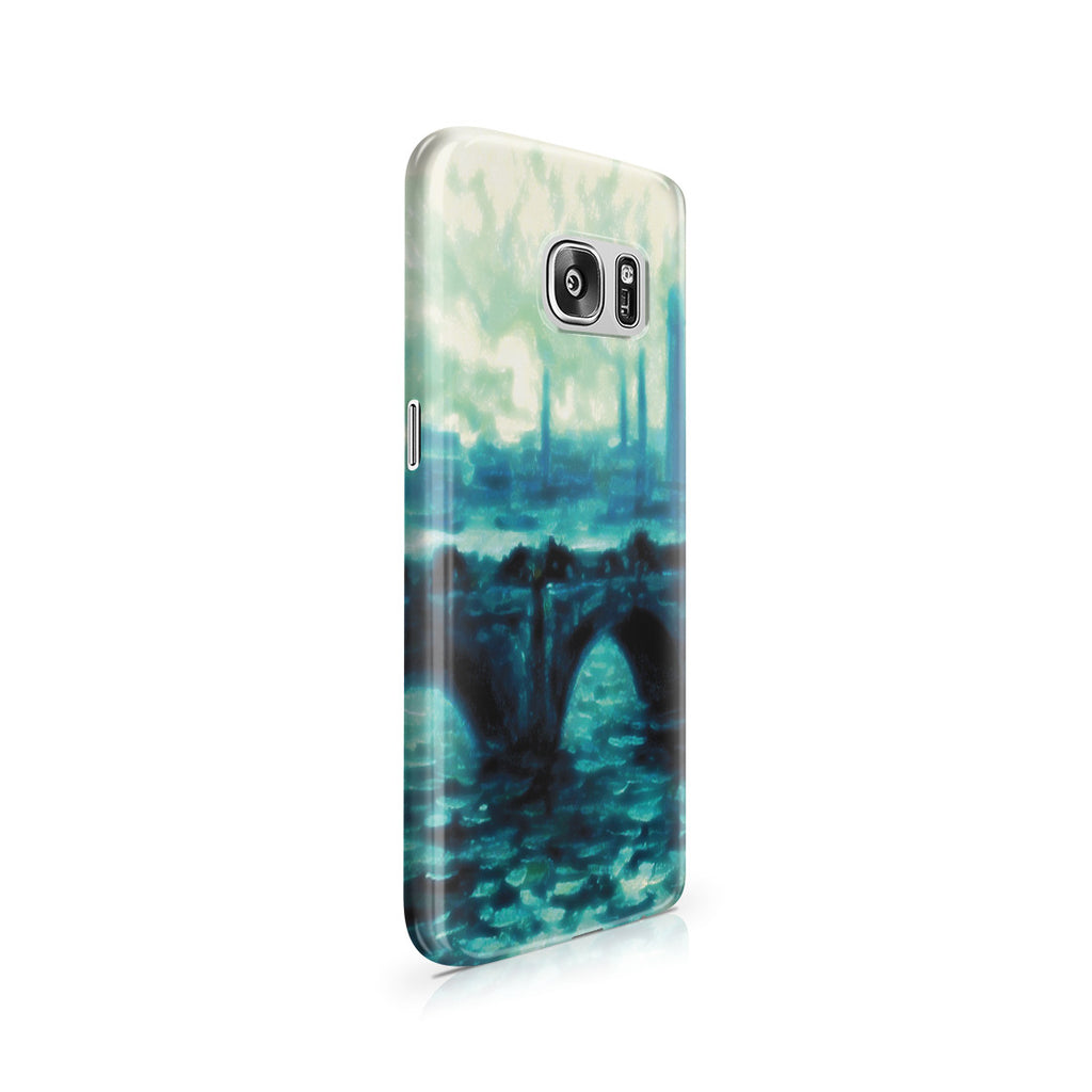 Galaxy S7 Case - Waterloo Bridge by Claude Monet