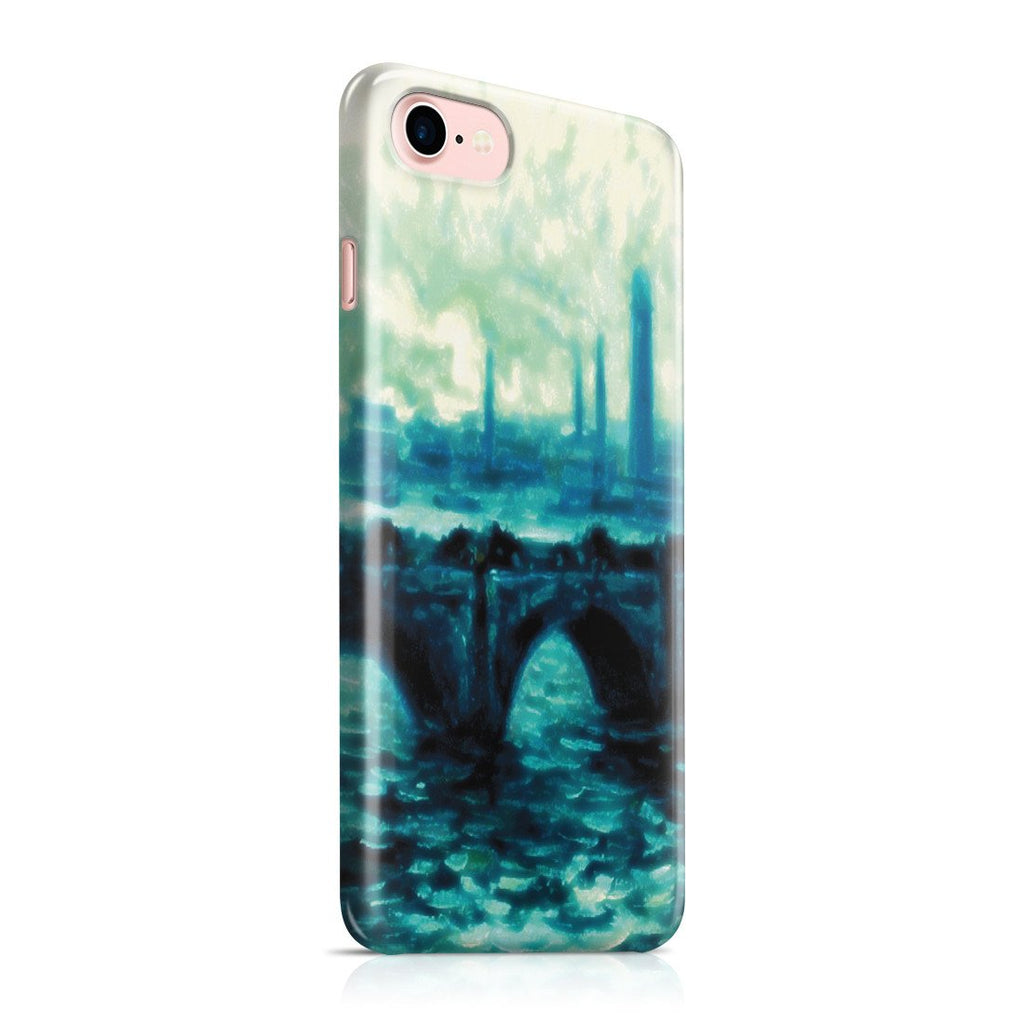 iPhone 8 Case - Waterloo Bridge by Claude Monet