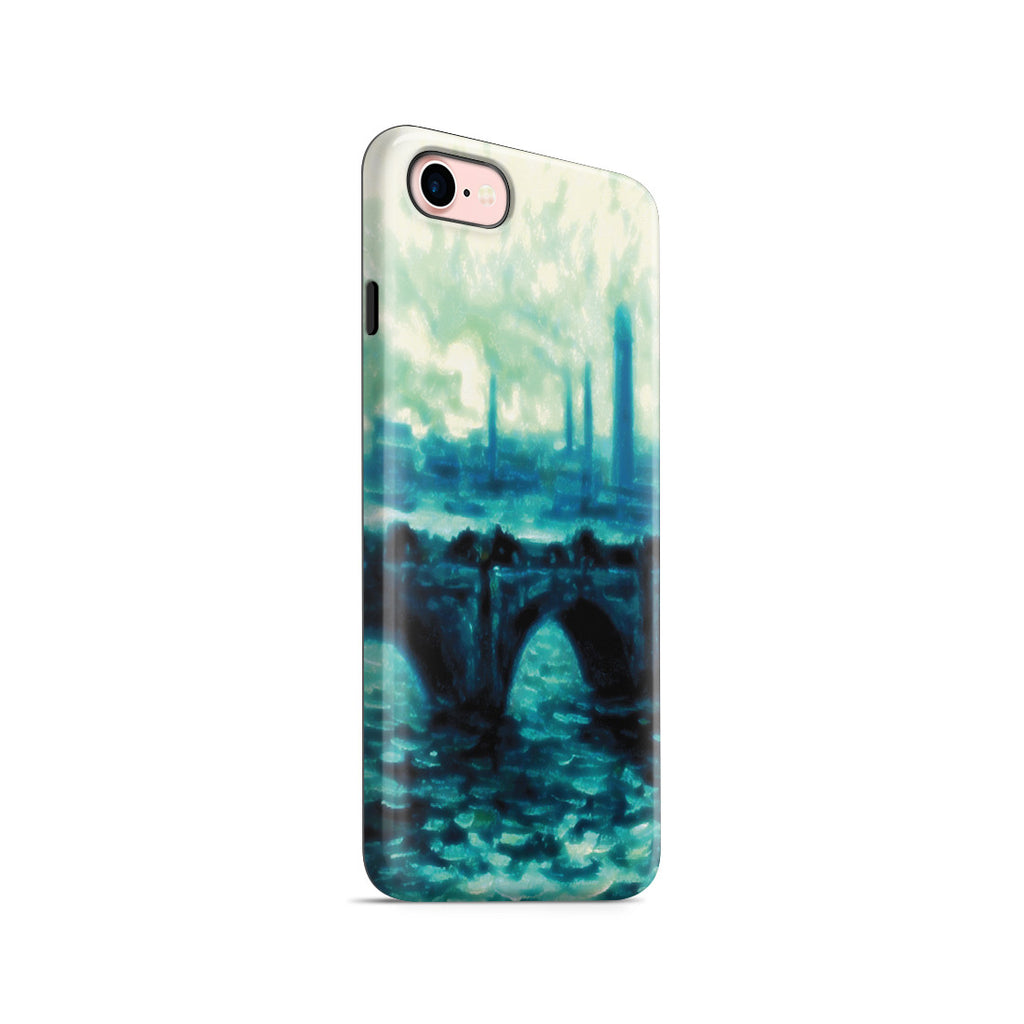 iPhone 7 Adventure Case - Waterloo Bridge by Claude Monet
