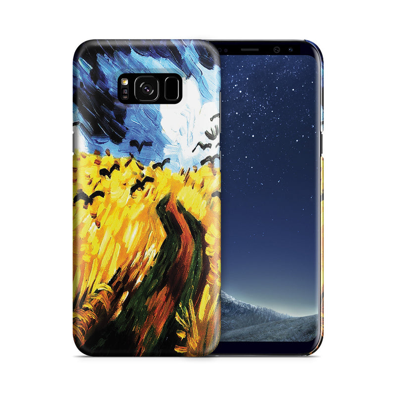 Galaxy S8 Plus Case - Wheat Field With Crows by Vincent Van Gogh