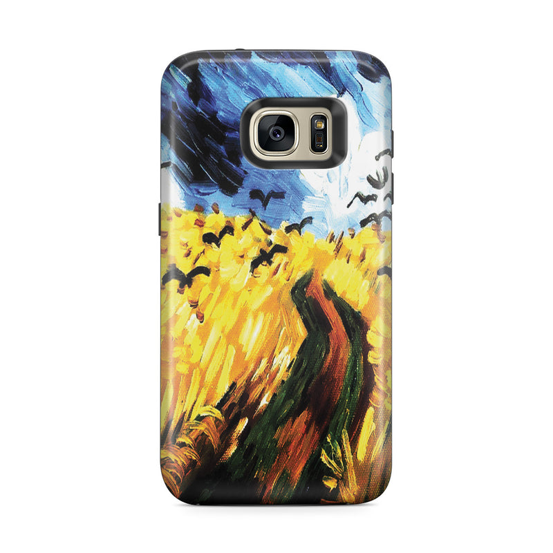 Galaxy S7 Edge Adventure Case - Wheat Field With Crows by Vincent Van Gogh