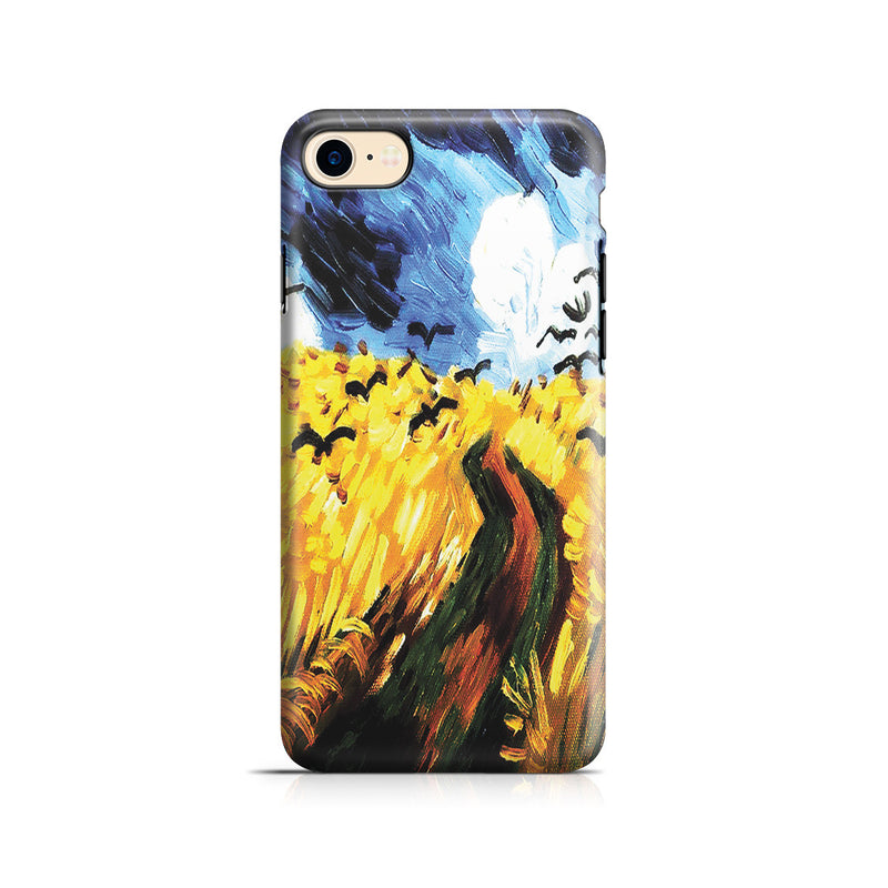 iPhone 7 Adventure Case - Wheat Field With Crows by Vincent Van Gogh