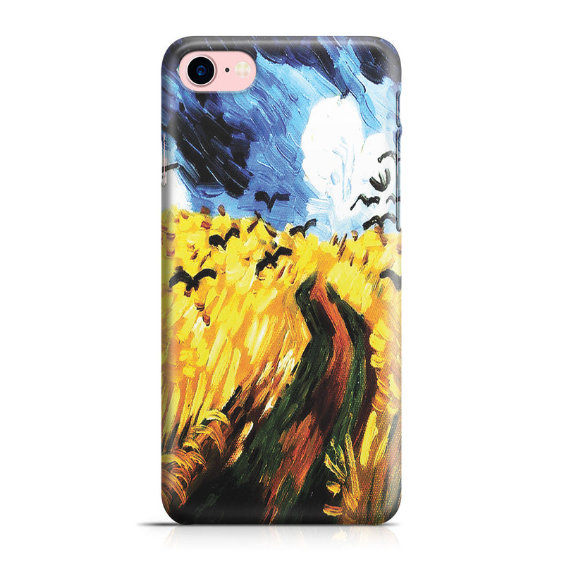 iPhone 7 Case - Wheat Field With Crows by Vincent Van Gogh