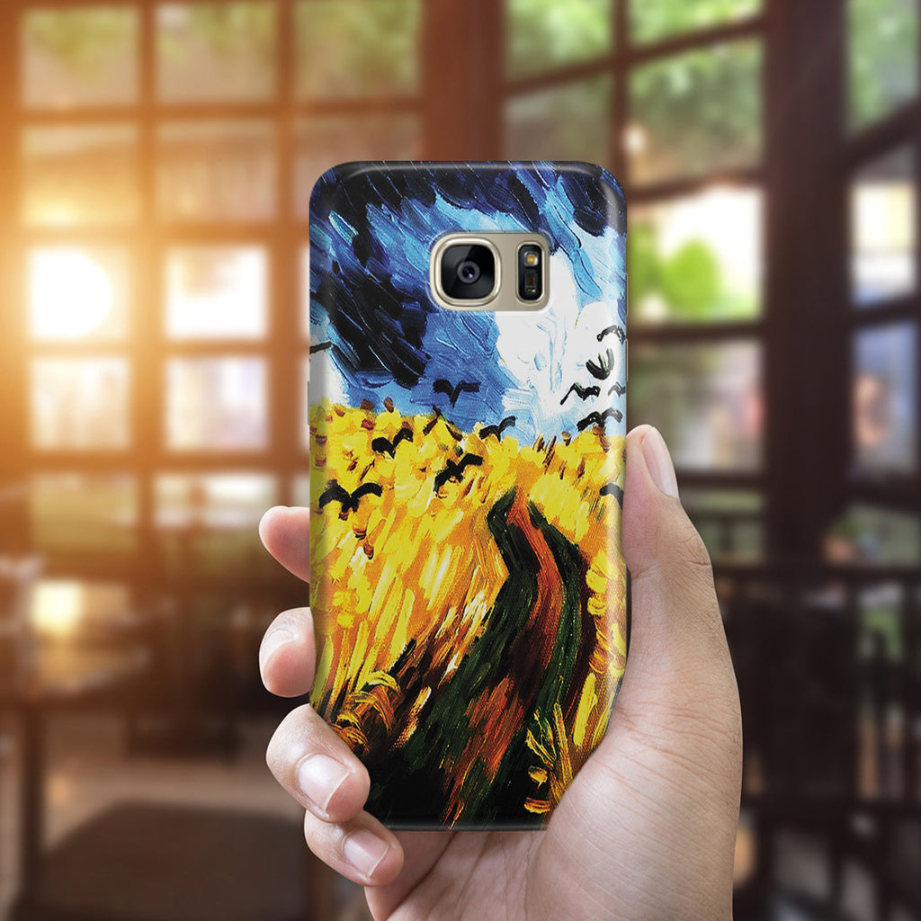 Galaxy S7 Edge Case - Wheat Field With Crows by Vincent Van Gogh