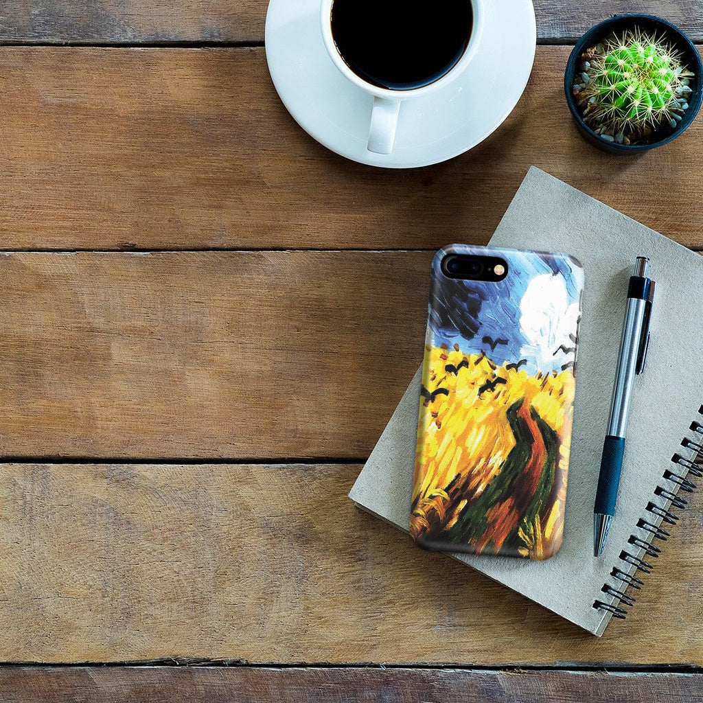iPhone 8 Plus Case - Wheat Field With Crows by Vincent Van Gogh