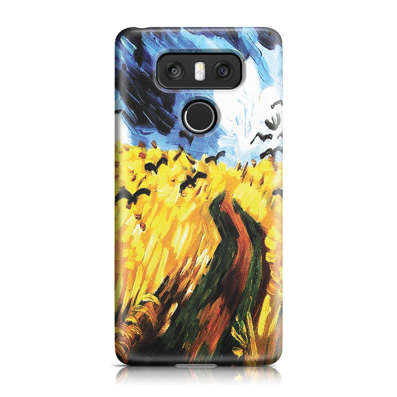 LG G6 Case - Wheat Field With Crows by Vincent Van Gogh