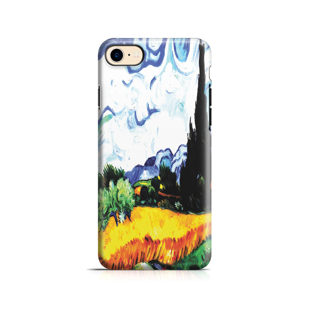 iPhone 7 Adventure Case - Wheat Filed with Cypresses by Vincent Van Gogh