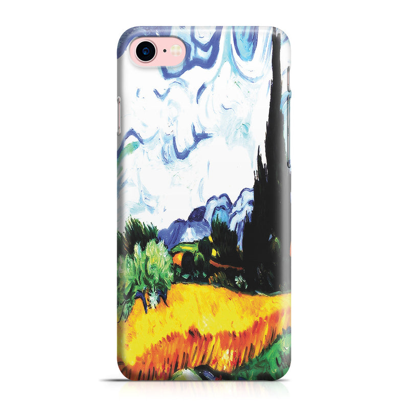 iPhone 7 Case - Wheat Filed with Cypresses by Vincent Van Gogh