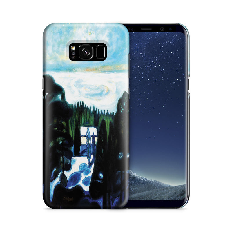 Galaxy S8 Plus Case - White Night, 1901 by Edvard Munch