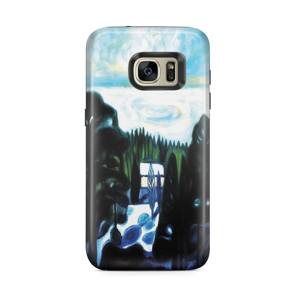 Galaxy S7 Edge Adventure Case - White Night, 1901 by Edvard Munch
