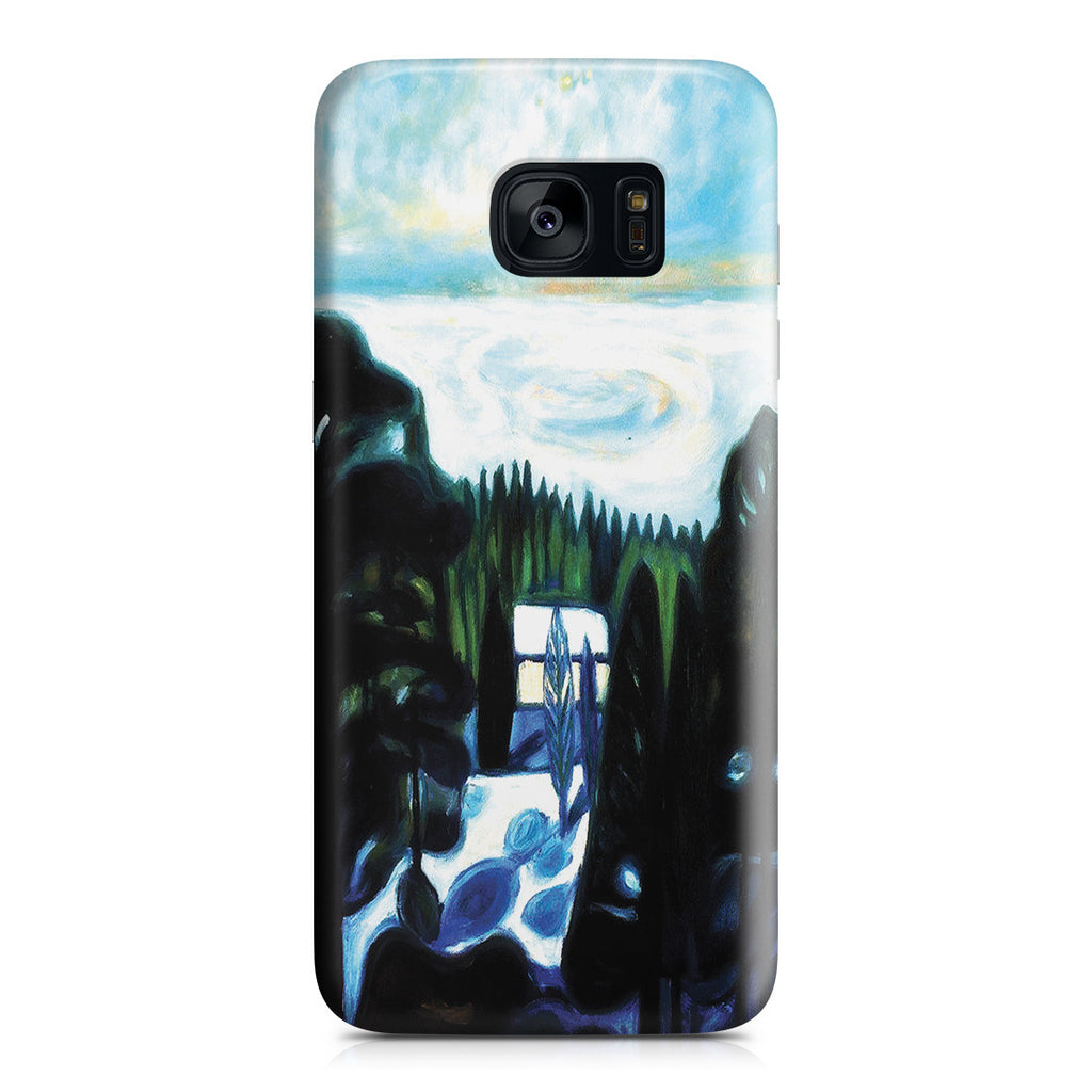 Galaxy S7 Edge Case - White Night, 1901 by Edvard Munch