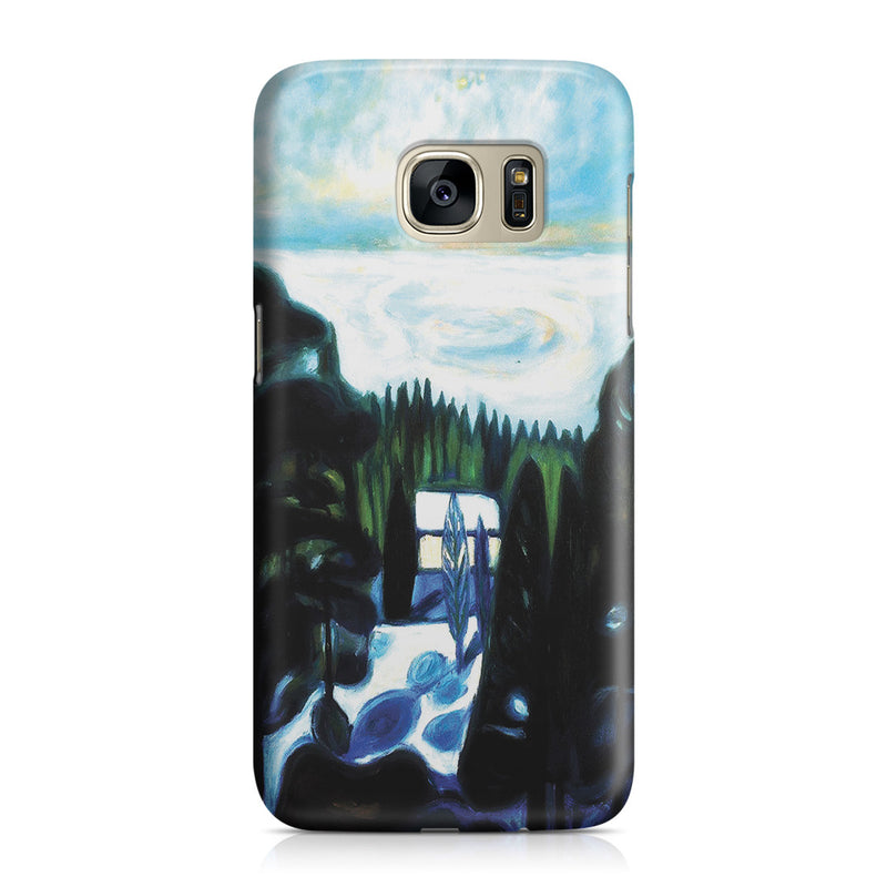 Galaxy S7 Case - White Night, 1901 by Edvard Munch